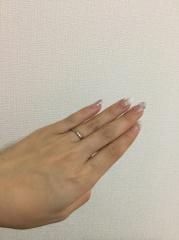 【俄(にわか)の口コミ】 シンプルなデザイン、かつ予算内で買える指輪を探していました。親戚が結婚…