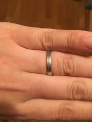 【AtelierSoeta(アトリエソエタ)の口コミ】 二人で指輪選びをする際、既製品よりもオーダーメイドでオリジナルデザイン…