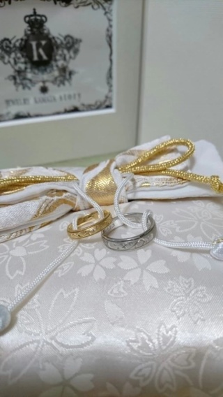 【JEWELRY  KAMATA(ジュエリーかまた)の口コミ】 何と言っても、全てがオリジナルデザインの結婚指輪を作れる所!自分たちの…