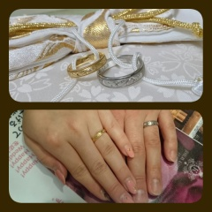 【JEWELRY  KAMATA(ジュエリーかまた)の口コミ】 結婚指輪を探していたのですがお互いの好みがなかなかまとまりませんでし…