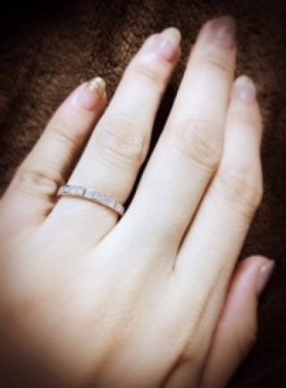 【ショパール(Chopard)の口コミ】 キューブを組み合わせたデザインにより、あしらわれたダイヤの輝きが他の…