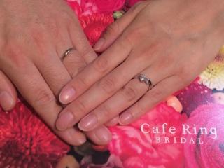 【Cafe Ring(カフェリング)の口コミ】 ピンクダイヤが入ってる指輪を取り扱っているお店をパンフレットで探し,…