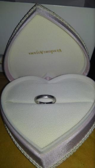 【ヴァンドーム青山(Vendome Aoyama)の口コミ】 結婚指輪は日常的に身につけるものなので、気軽に立ち寄れるお店で買おう…