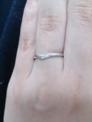 【アイプリモ(I-PRIMO)の口コミ】 結婚指輪は毎日着けるものなのでシンプルなデザインのものを探していました…