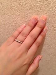 【4℃(ヨンドシー)の口コミ】 ダイヤモンドの入っている結婚指輪を探していたこと、また年齢を重ねると細…