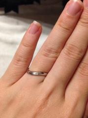 【JEWELRY  KAMATA(ジュエリーかまた)の口コミ】 世界に一つしかないオリジナルの指輪を作れるところが最大の魅力的でした…