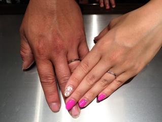 【MILK&Strawberry(ミルクアンドストロベリー)の口コミ】 とても可愛くて、指にはめた瞬間これがいい!と思いました。他のもはめてみ…