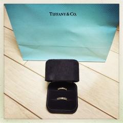 【ティファニー(Tiffany & Co.)の口コミ】 「結婚指輪は絶対にティファニー!」という私の強い希望で、事前にHPで気…