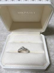 【MIKIMOTO(ミキモト)の口コミ】 国内メーカーから外国メーカーまで様々な指輪を試着しました。中でもミキモ…