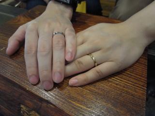 【ichi(イチ)の口コミ】 結婚指輪を探していたわけではなく、たまたま通りかかっただけでしたが、そ…