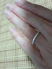 【銀座ダイヤモンドシライシの口コミ】 店員さんの接客とダイヤモンドの輝きです。何も分からない私達に丁寧に寄り…