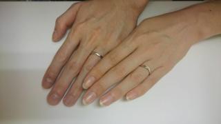 【銀座ダイヤモンドシライシの口コミ】 色々な種類、形を試させていただき、この指輪を付けた瞬間にこれだ!!と運…
