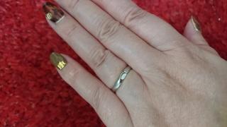 【ギンザタナカブライダル(GINZA TANAKA BRIDAL)の口コミ】 以前から「GINZA TANAKA」さんが好きで結婚指輪も絶対ここで買…