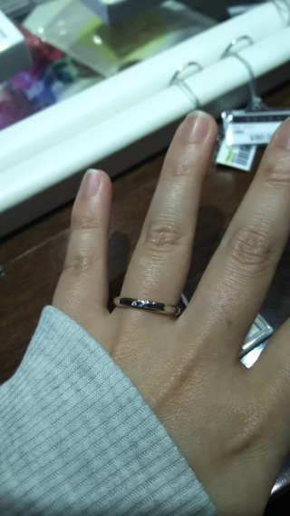 【アイプリモ(I-PRIMO)の口コミ】 2色づかいができるのが魅力!指輪はプラチナ、でもピンクゴールドも捨て…