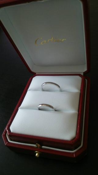 【カルティエ(Cartier)の口コミ】 指輪にはあまり興味がなくなんとなく見ていたらシンプルで華奢なタイプのデ…