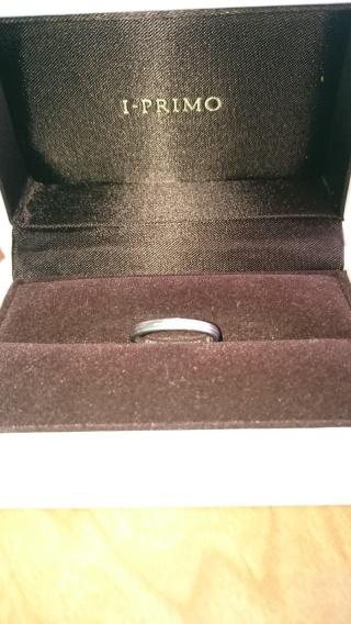 【アイプリモ(I-PRIMO)の口コミ】 シンプルで長くつけていられるものを探していたので、この指輪はぴったりで…