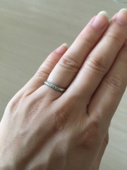 【アイプリモ(I-PRIMO)の口コミ】 あまり指輪にかけられるお金がなかったのですが、すごく指輪に憧れていて見…