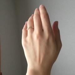 【THE KISS(ザ・キッス)の口コミ】 結婚指輪を奮発するということで、婚約指輪はリーズナブルなものを、という…