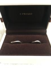 【アイプリモ(I-PRIMO)の口コミ】 シンプルでダイヤが主張しすぎない(リング自体より外側へはみ出てないもの…