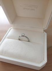 【MIKIMOTO(ミキモト)の口コミ】 シンプルで華奢な指輪が欲しかったので、この指輪を見て即決でした 石は質…