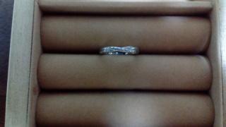【スタージュエリー(STAR JEWELRY)の口コミ】 自分の中で思っていた結婚指輪のイメージにぴったりのデザインでした。比…