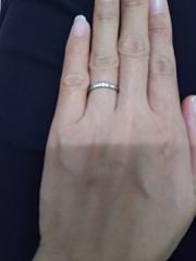 【ケイウノ ブライダル(K.UNO BRIDAL)の口コミ】 気に入ったデザインの指輪が見つからず、その時に入ったお店がケイウノさん…