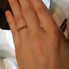【ブシュロン(BOUCHERON)の口コミ】 他にはない独特なデザインなため、結婚指輪らしくなくて個性的につける事が…