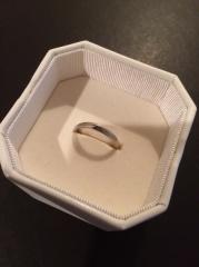 【4℃(ヨンドシー)の口コミ】 長く愛用できる指輪を探していました。最近ではゴールドの指輪も流行って…