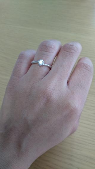 【宝寿堂(ほうじゅどう)の口コミ】 店員さんが、私の手の大きさや指の太さから似合うものをアドバイスして下さ…
