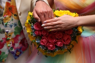 【4℃(ヨンドシー)の口コミ】 男性の指輪と女性の指輪で少しデザイン違いな所が気に入って購入しました!…