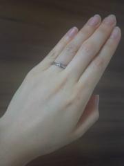 【俄(にわか)の口コミ】 和テイストの指輪があるとはこの時初めて知りました。京都に本店を構えてお…