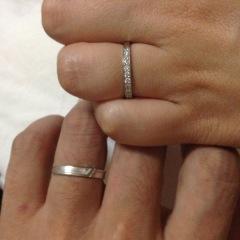 【ESTELLE(エステール)の口コミ】 とにかくシンプルなデザインの指輪がほしく、これから先年齢を重ねても似合…