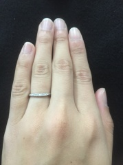 【ラザール ダイヤモンド(LAZARE DIAMOND)の口コミ】 3件まわり、最後がラザールダイヤモンドでした。前の2件では、何回試着し…