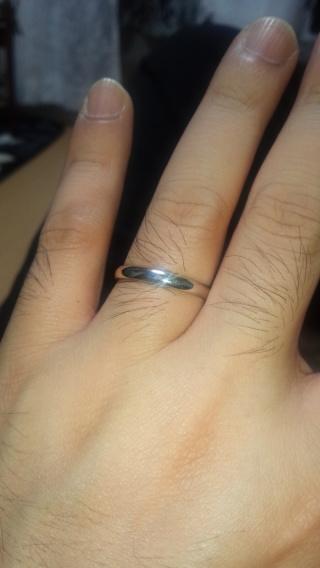 【銀座ダイヤモンドシライシの口コミ】 色んな指輪を見てきて、この形はあり、この形はなし、とか自分達で、付け…