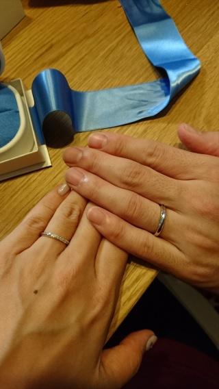 【銀座ダイヤモンドシライシの口コミ】 他のお店のものよりもダイアモンドの輝きが美しかったです。何よりも指輪…