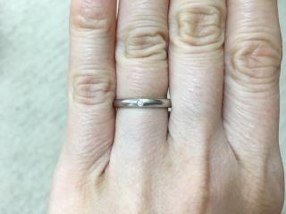 【カルティエ(Cartier)の口コミ】 カルティエのバレリーナという結婚指輪を購入しました。お店でこちらの指輪…