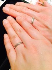 【JEWELRY  KAMATA(ジュエリーかまた)の口コミ】 私達は結婚式を挙げない為、指輪はこだわりたいと思って色々探していました…