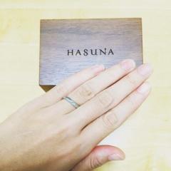 【HASUNA(ハスナ)の口コミ】 毎日つけるものなので、あまり主張の強いものではなく、シンプルなデザイン…