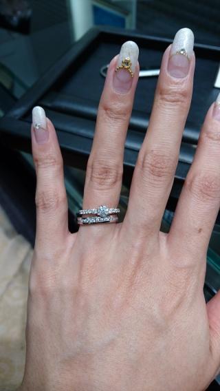 【ラザール ダイヤモンド(LAZARE DIAMOND)の口コミ】 同僚がラザールさんで指輪を購入しておすすめされたので、HPをみてみたと…