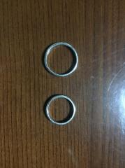 【ティファニー(Tiffany & Co.)の口コミ】 結婚指輪なので、飽きのこないシンプルなデザインを選びました。妻の希望…