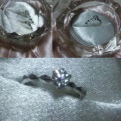 【JEWELRY  KAMATA(ジュエリーかまた)の口コミ】 フェミニンなデザインで指が綺麗に見えました。リングのデザインも豊富で色…
