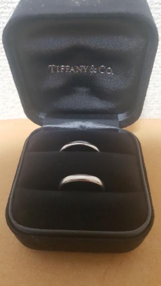 【ティファニー(Tiffany & Co.)の口コミ】 シンプルな指輪を探していました。理由は、医療の仕事をしていますので邪魔…