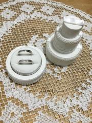 【ヴァンドーム青山(Vendome Aoyama)の口コミ】 他のブランドの指輪も何点か候補はありましたが、第一印象とつけた時の雰…