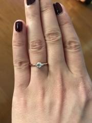 【LUCIE(ルシエ)の口コミ】 旦那にプロポーズされる前に、2人で店舗を訪れ、自分好みの指輪を探して…