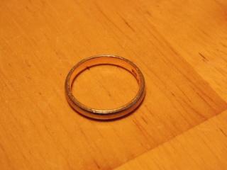 【夢工房鍛造家族の口コミ】 結婚指輪を探している際に、鍛造という手法があることを知り、その手法に惚…