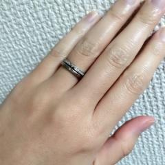 【LUCIE(ルシエ)の口コミ】 LUCIEを知ったきっかけは彼からもらった婚約指輪でした。婚約指輪と重…