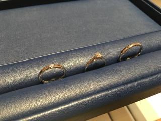 【銀座ダイヤモンドシライシの口コミ】 シンプルなものがよかったので、思い通りの指輪に出会えました!指にはめた…