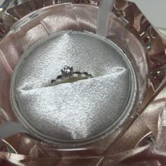 【JEWELRY  KAMATA(ジュエリーかまた)の口コミ】 彼が当店でダイヤモンドだけを選んでくれ、ダイヤモンドプロポーズをしてく…