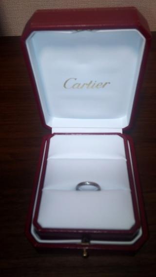 【カルティエ(Cartier)の口コミ】 結婚する前から指輪はカルティエと決めていました。毎日着けておくものだか…