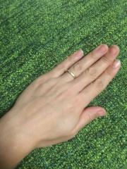 【NIESSING(ニーシング)の口コミ】 セミオーダーシステムなので、指輪の色や幅、加工方法、ダイヤモンドのサ…